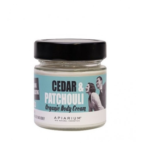 Cedar and Patchouli Organic Body Cream  200ml/  Κρέμα Σώματος με Κέδρο και Πατσουλί 200ml
