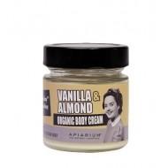 Vanilla and Almond Organic Body Cream 200ml /  Κρέμα Σώματος με Βανίλια και Αμύγδαλο 200ml