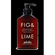 Energizing Body Lotion Fig & Lime 250ml/ Γαλάκτωμα Σώματος Fresh Energizing με Βιολογικό Σύκο και Lime 250ml