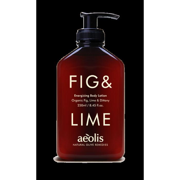 Energizing Body Lotion Fig & Lime / Γαλάκτωμα Σώματος Fresh Energizing με Βιολογικό Σύκο και Lime