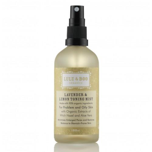 Lavender & Lemon toning Mist / Τονωτικό Mist για Λιπαρό Δέρμα με Λεβάντα
