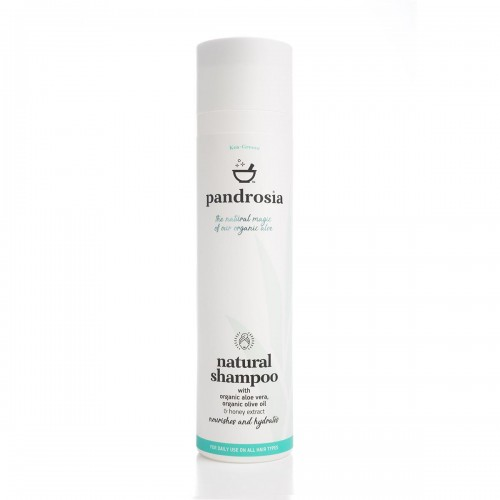 Natural Shampoo / Φυσικό Σαμπουάν με Βιολογική Αλόη και Μέλι