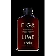 Energizing Shower Gel Fig & Lime 250ml/ Αφρόλουτρο Fresh Energizing με Βιολογικό Σύκο και Lime 250ml
