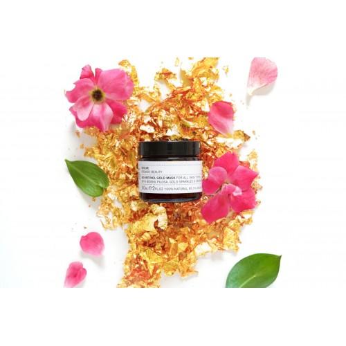 Bio Retinol Gold Mask 60ml / Χρυσή Μάσκα Προσώπου με Φυσική Ρετινόλη 60ml