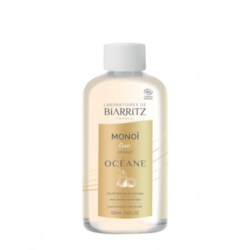 Organic Monoi Oil Coconut / Βιολογικό Έλαιο Μονόι με Άρωμα  Καρύδας