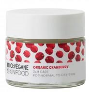 Organic Cranberry 24h Care / Ενυδατική Κρέμα Προσώπου με Cranberry  για Ξηρό Δέρμα