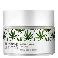 Organic Hemp 24h Care for Stressed Skin / Ενυδατική Κρέμα Προσώπου με Κάνναβη για Ταλαιπωρημένο Δέρμα
