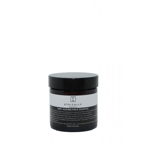 Antiageing Face Souffle 60gr/  Αντιγηραντικό Souffle Προσώπου με Βούτυρο Καριτέ και Έλαιο Λιβανιού 60gr