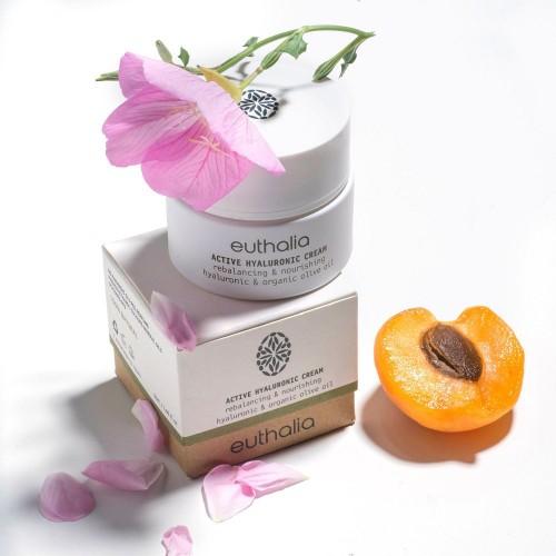 Active Hyalouronic Cream 50ml / Αντιοξειδωτική Κρέμα Προσώπου με Υαλουρονικό Οξύ 50ml