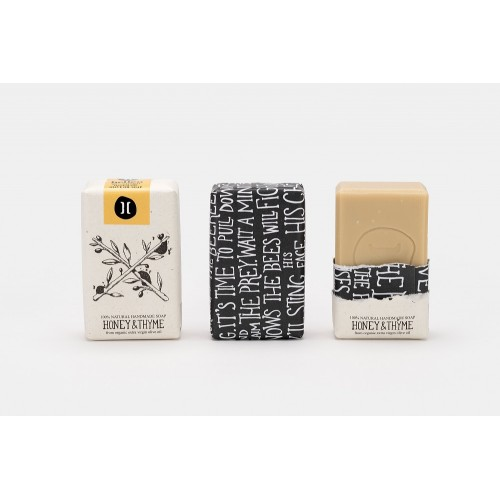 Natural Soap Honey and Thyme / Φυσικό Χειροποίητο Σαπούνι με Μέλι και Θυμάρι