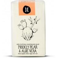 Natural Soap Prickly Pear and Aloe Vera / Φυσικό Χειροποίητο Σαπούνι με Φραγκόσυκο και Αλόη Βέρα