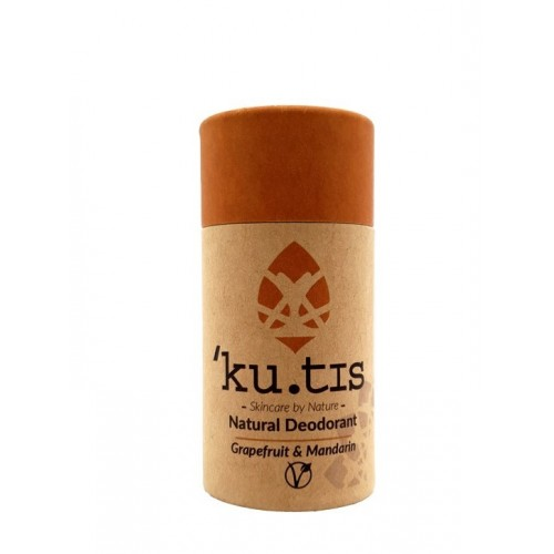 Natural Deodorant Grapefruit and Mandarin / Φυσικό Vegan Αποσμητικό Γκρέιπφρουτ-Μανταρίνι