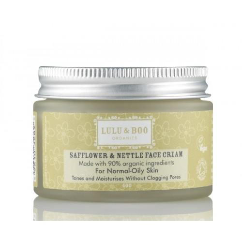 Safflower & Nettle Face Cream /  Ενυδατική Κρέμα Προσώπου  με Τσουκνίδα για Λιπαρό Δέρμα