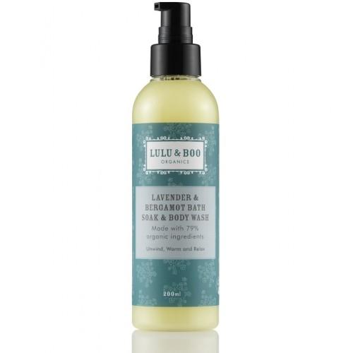 Lavender and Bergamot Body Wash / Αφρόλουτρο Χαλάρωσης με Λεβάντα και Περγαμόντο