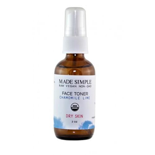 Face Toner Chamomile 60ml / Mist με  Ανθόνερο Χαμομηλιού για Ξηρό Δέρμα 60ml