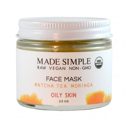 Face Mask Matcha Tea 65gr/  Μάσκα Καθαρισμού Προσώπου για Λιπαρό  Δέρμα με Τσάι Matcha 65gr