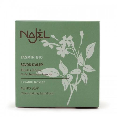 Aleppo Soap Organic Jasmine 100gr/ Παραδοσιακό Σαπούνι Aleppo με Γιασεμί 100gr