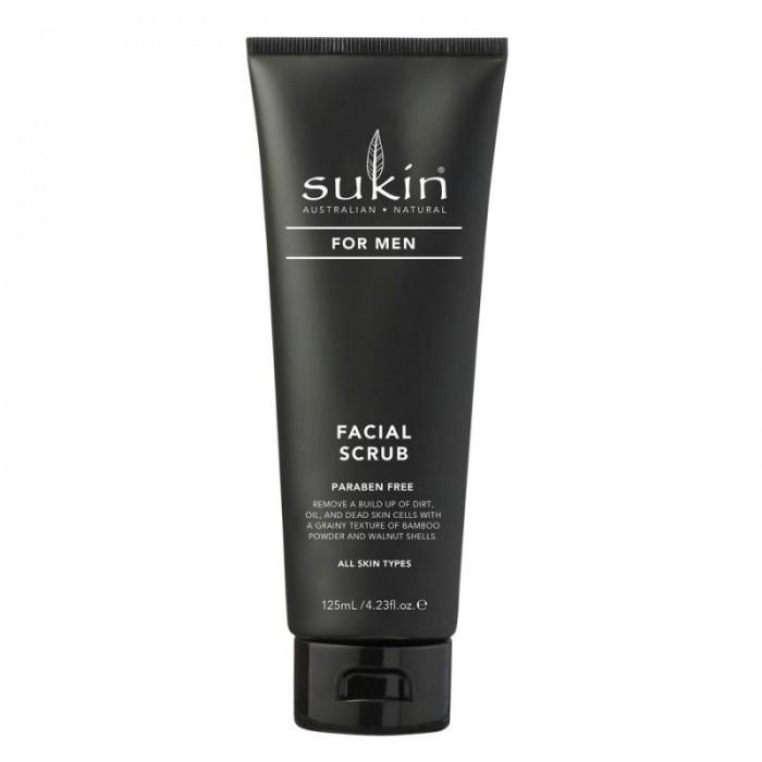 Facial Scrub for Men 125ml /  Scrub Προσώπου για Άνδρες 125ml