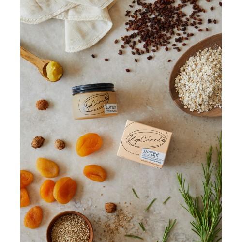 Cleansing Face Balm with Apricot Powder 50ml / Βάλσαμο Καθαρισμού Προσώπου με  Βερίκοκο 50ml