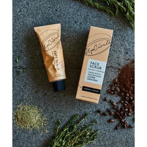 Coffee Face Scrub Herbal Blend 100ml / Scrub Προσώπου από Κόκκους Καφέ με Έλαιο Δεντρολίβανου 100ml