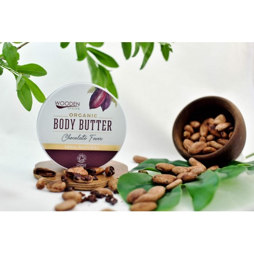 Body Butter Chocolate Fever 100ml / Βούτυρο Σώματος Καρύδα 100ml