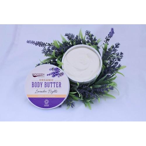 Body Butter Lavender Nights 100ml / Βούτυρο Σώματος Λεβάντα 100ml