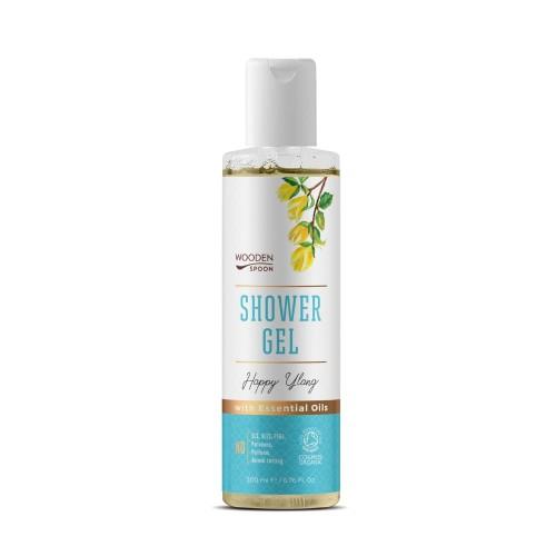 Shower Gel Happy Ylang  200ml / Αφρόλουτρο με Άρωμα Ylang-Ylang 200ml